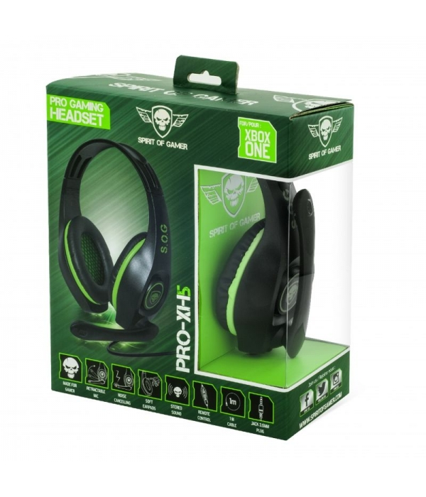 Auriculares Gaming Headset PRO-XH5 Spirit of Gamer PS4/Xbox One