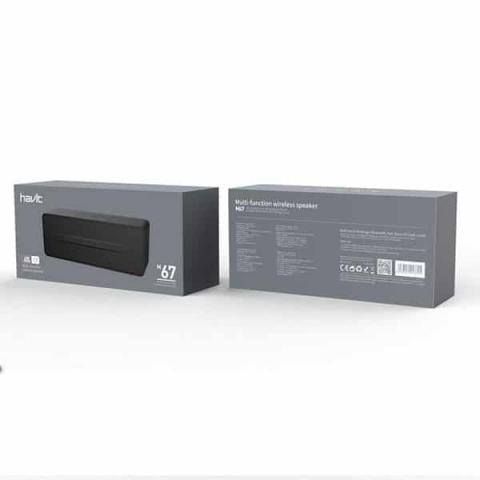 Altavoz Bluetooth Havit 6W V4.0 USB/TF/FM/AUX M67