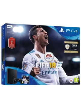Sony Ps4 Slim 500Go + FIFA 18