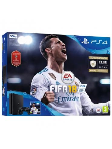 Sony Ps4 Slim 500Go + FIFA 18