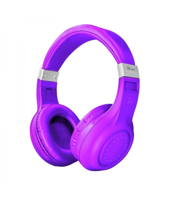 Auriculares Trust Neon Purple Bluetooth