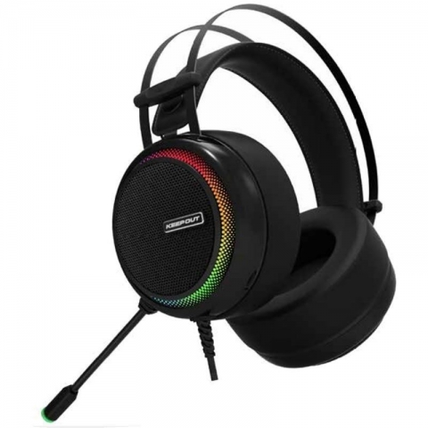 Auriculares keep-out Xpro 7.1 Cable Usb 2.2m Para Pc/ps3/ps4