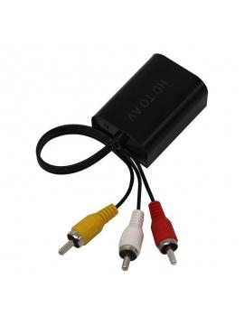 Adaptador HDMI a AV RCA HDMI2AV