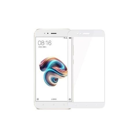 Cristal Templado Xiaomi Redmi Mi A1 Full Glue 6D Color Blanco