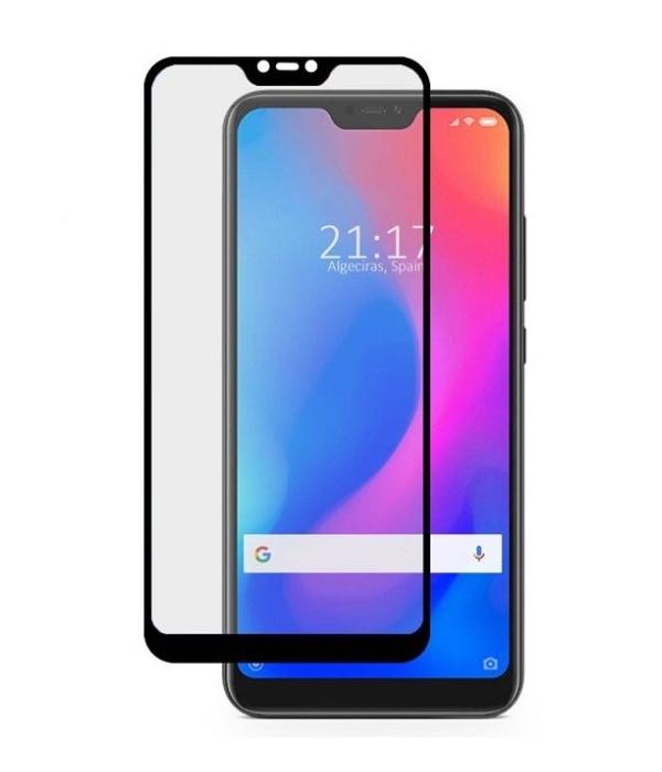 Cristal Templado Xiaomi Note 6 Pro Full Glue 6D Color Negro