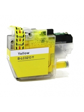 Tinta Compatible Brother LC3213 / LC3211 Y Amarillo