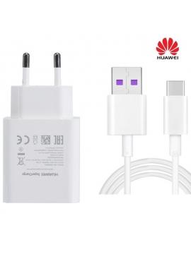 Cargador USB 5V 9V 2A Huawei Quick Charger + Cable Usb C