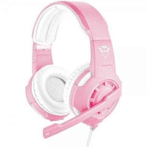 Auriculares Trust Gaming Radius GXT 310P Radius Pink Color Rosa