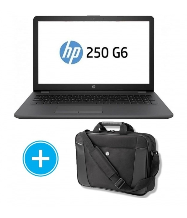Portatil HP 250 G6 3VJ17EA INTEL N4000 8GB 240GB SSD + Maletin Hp H2W17AA