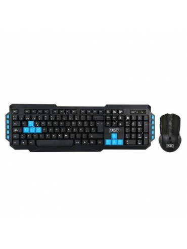 Teclado y Raton Gaming 3go Kit Inalambricos