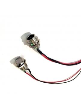 Conector De Carga Repuesto Monopatin Electrico Hoverboard