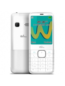 WIKO Telefono Movil Riff 3 Plus Blanco