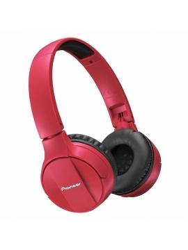 Cascos Pioneer Bluetooth SE-MJ553BT-R Rojo