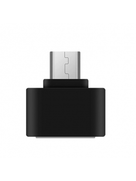 Adaptador Mini Otg Micro Usb Color Negro
