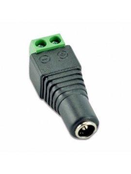 Conector Alimentacion Hembra 12v Video Vigilancia Cctv 2,1mm x 5,5mm