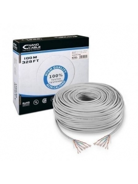 Cable de RED RJ45 Rollo 100m CAT5e AWG24