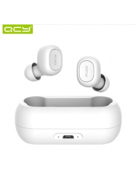 Auriculares Bluetooth V5 QCY-T1 Tws Color Blaco
