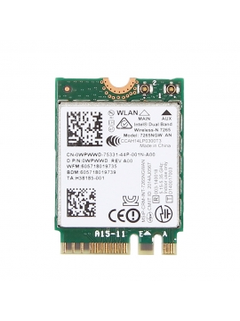 Wifi PCI-E Express Intel 7265NGW Bluetooth Dual band Mini PCIe PCI-Express para portatiles