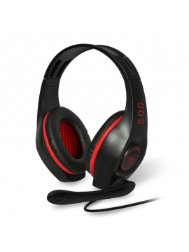 Auriculares Pc Spirit Of Gamer Pro-H5 Rojo