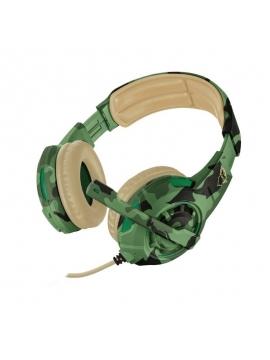 Auriculares Trust Gaming Radius GXT 310C Jungla Camuflaje