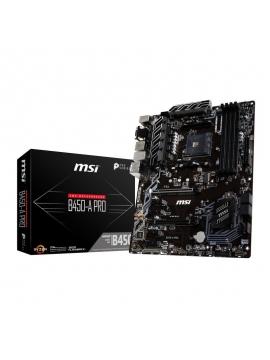 Placa Base AM4 MSI B450-A PRO