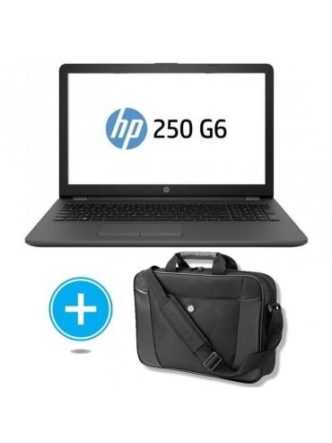 Portatil HP 250 G6 3VJ17EA INTEL N4000 4GB 480GB SSD + Maletin Hp H2W17AA