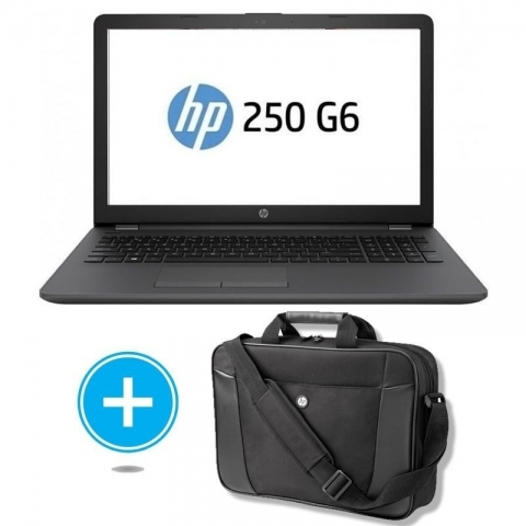 Portatil HP 250 G6 3VJ17EA INTEL N4000 4GB 480GB SSD + Maletin Hp H2W17AA
