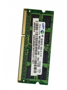 Memoria SODIMM 2GB 2RX8 PC3-10600S-09-10-F2 M471B5673FH0-CH9 (Usada)