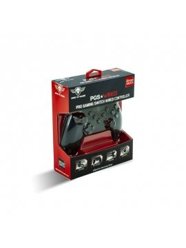 Mando Nintendo Switch Spirit Of Gamer Pro Cable 16 Botones - Cruceta Precisión - 2 Sticks