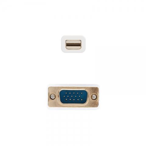 Cable Mini Displayport a VGA M/M