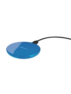 Cargador Inalambrico Trust QI Color Azul
