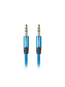 Cable Audio Jack 3,5mm a 3,5mm 1M Chapado oro Cable Trenzado