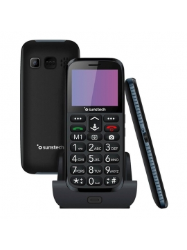 Telefono Movil Sunstech CELT3 Negro