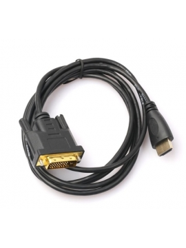 Cable DVI-D a Hdmi  HDMI to DVI 2 Metros