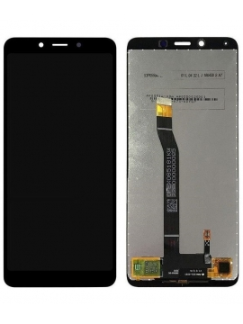 Pantalla completa LCD display digitalizador tactil para Xiaomi Redmi 6 6a Color Negro