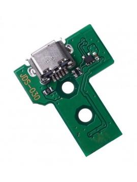 Placa carga + conector USB Mando Dualshock 4 PS4 JDS-030