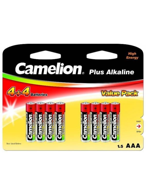 Pila Alcaline Camelion LR3 AAA 8U.