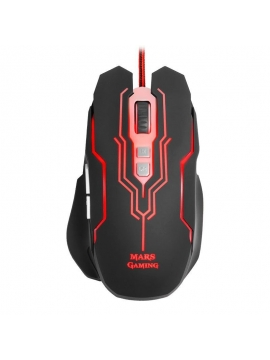 Raton Mars Gaming MM216 5000DPI Iluminacion Led 6 Colores