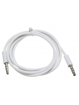 Cable Jack 3,5mm audio y micro m-m 1.2m Banco