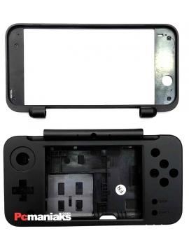 Repuesto Nintendo New 2DS XL carcasa completa negra