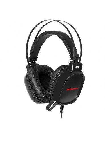Auriculares con Micro Mars Gaming MH218 PS4/PC/ Negro