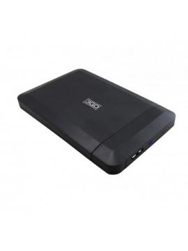 "Carcasa para disco duro de 2,5"" USB 3Go HDD25BK315"