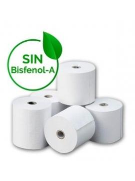 Papel Termico 8 Rollos 80x60 Libres De Bisfenol