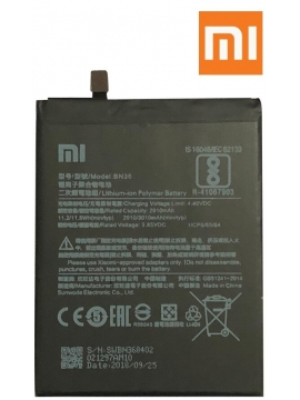 Bateria Xiaomi BN36 Mi A2 M1804D2SG - 2910mAh