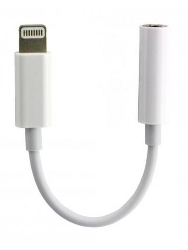 Adaptador de Lightning a auriculares de 3,5 mm Compatible