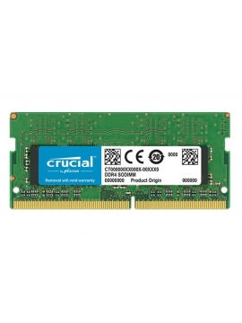 Memoria SODIMM 8Gb DDR4 PC2400 Crucial