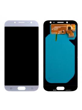 Pantalla completa para Samsung J7 Amoled (2017) J730 SM-730F Azul