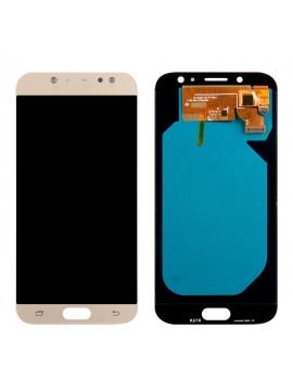 Pantalla completa para Samsung J7 Amoled (2017) J730 SM-730F Dorado