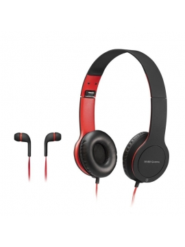 Auriculares con Micro Mars Gaming Combo MHCX