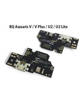 Placa Conector de carga BQ Aquaris V / V Plus / U2 / U2 Lite